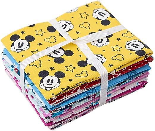 Disney Fat Quarters Bundle – Mickey Minnie Mouse – Cuadrados de ...