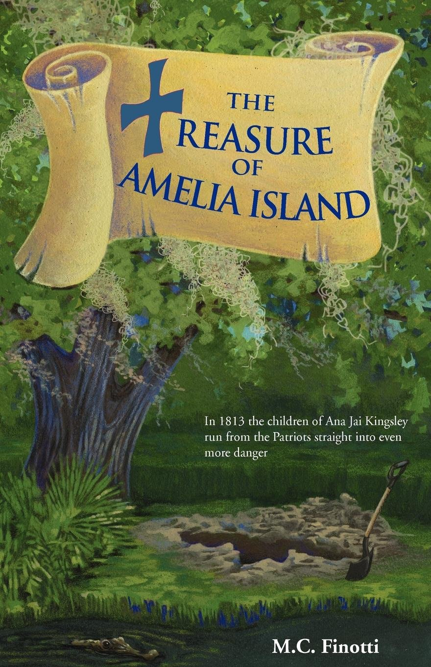 Read Online The Treasure of Amelia Island (Florida Historical Fiction for Youth) PDF