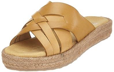 Womens Gladiator Sandals, Brown (Light Brown) Fred De La Bretoniere