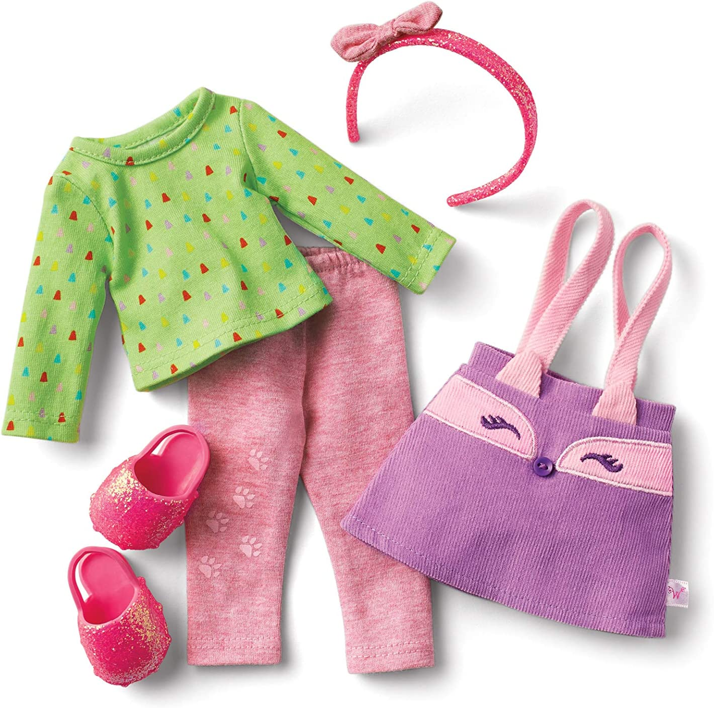 American Girl WellieWishers Smart as a Fox School Outfit for 14.5