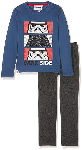 LEGO Star Wars 161997, Conjuntos de Pijama para Niños, Azul (Bleu),