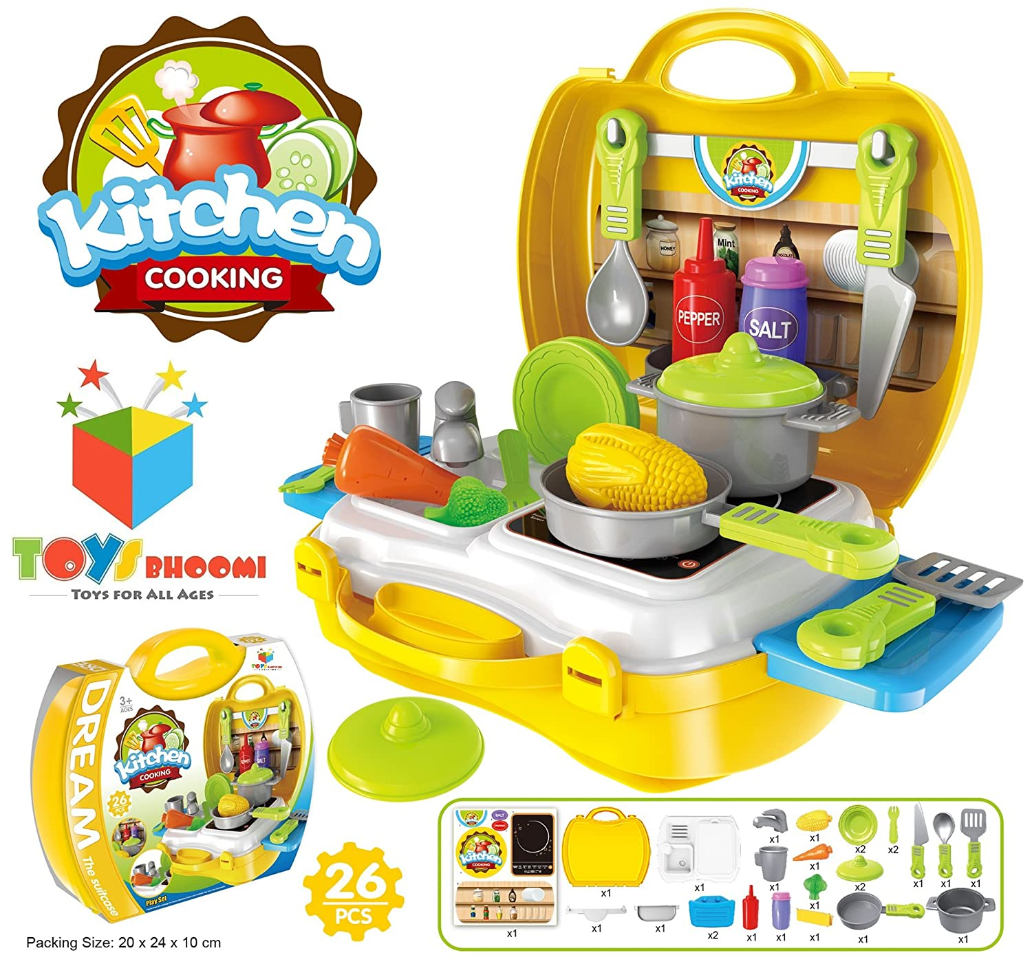 Buy Toys Bhoomi Ultimate Kid Chef s Bring Along Kitchen Cooking