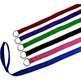 "6 Foot Slip Lead, Slip Leads, Kennel Leads with O Ring for Dog Pet Animal Control Grooming, Shelter, Rescues, Vet, Veterinarian, Doggy Daycare (Size: 6' x 1"", Colors: Various) By Downtown Pet Supply"