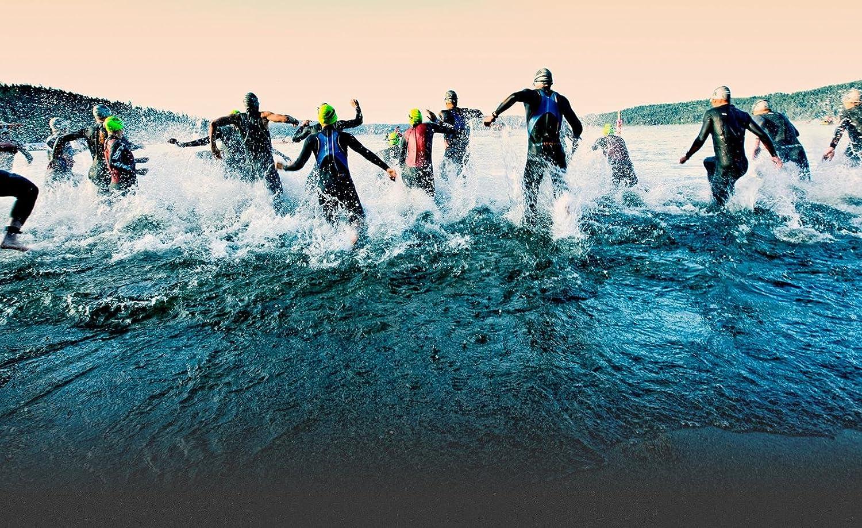 No Label Schwimmschnorchel PRO Front Snorkel Professioneller Front-Schnorchel Trainingsschnorchel Mittelschnorchel f/ür Schwimmer Leistungsschwimmer Schwimmtraining Triathlon Iron Man Schwarz