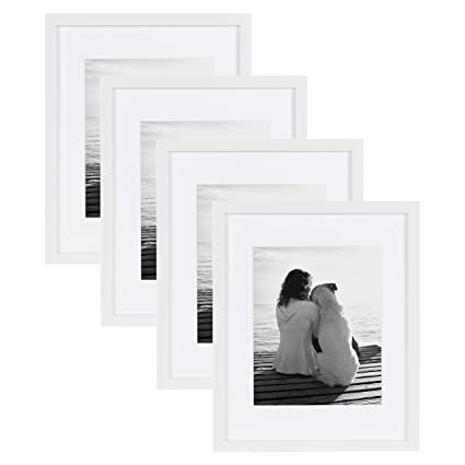 Amazon.com - DesignOvation Gallery Picture Frame, 11x14 matted to ...