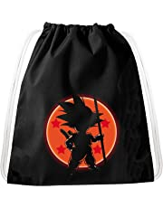SonBall Goku Dragon Mochila Bolsa Gym Bag Sport Jute Pouch, Mochila
