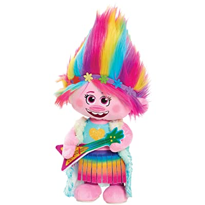Trolls World Tour Dancing Poppy Feature Plush: Toys & Games