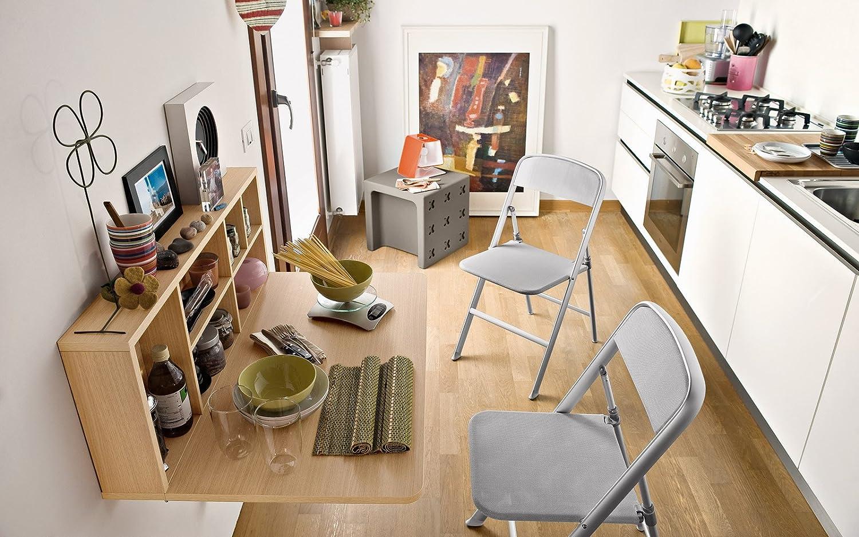Connubia Set 2 Sedie Pieghevoli Alu Cb205 Amazon It Casa E Cucina