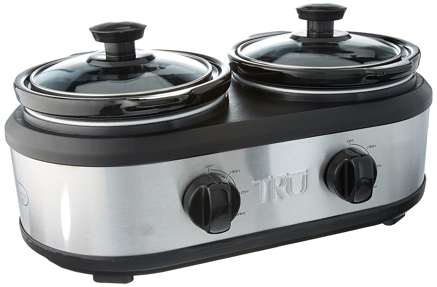 Amazon.com: TRU Dual Crock Buffet Slow Cooker SC-2125: Kitchen & Dining