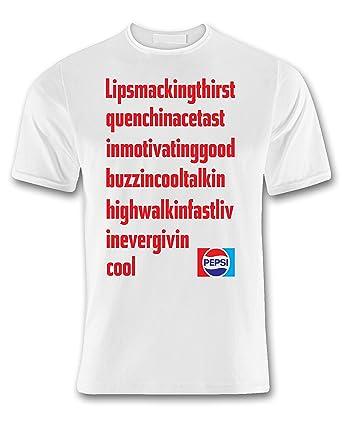 360gifts Pepsi cola Retro Vintage 70s White Tribute t Shirt  Amazon.co.uk   Clothing 62f4083a6