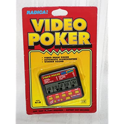 "Electronic Video Poker ""Royal Flush 2000"" Handheld Game (Radica): Toys & Games"