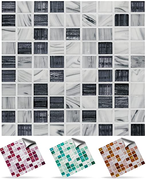 Tile Style Decals   Modell (30x TP 12   4in  Graphite Marble)  