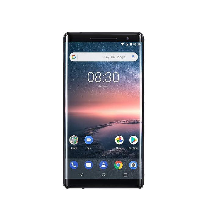 Nokia 8 Sirocco 4G 128GB Negro - Smartphone (14 cm (5.5