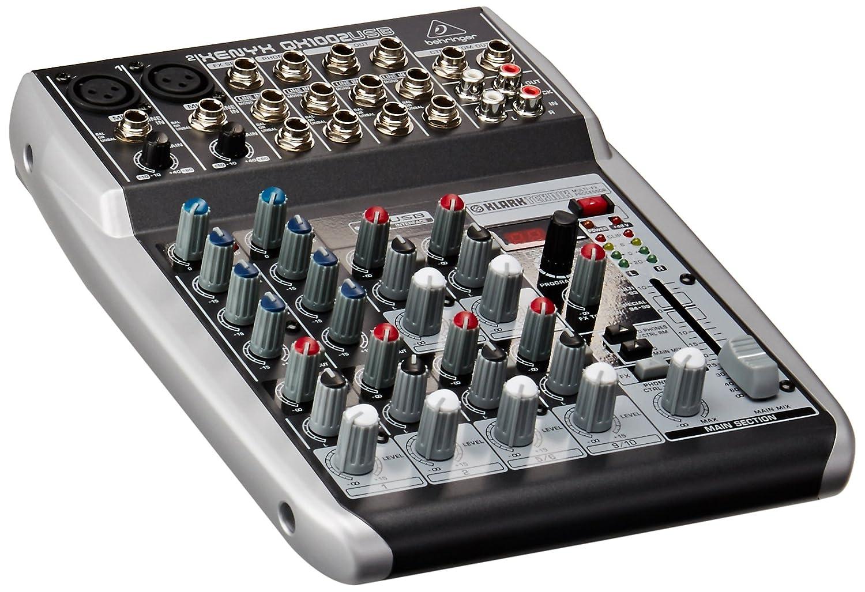 Behringer QX1202USB Premium 12-Input 2-Bus Mixer, KLARK TEKNIK Multi-FX Processor