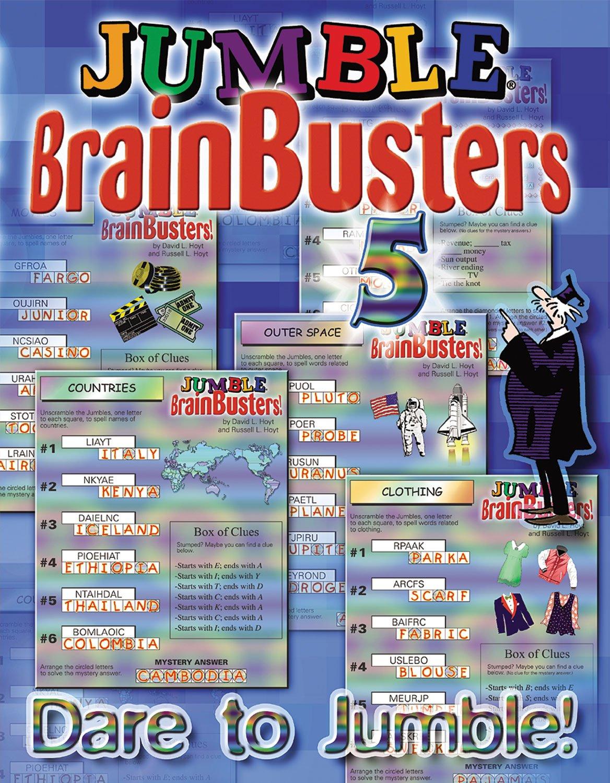 Jumble BrainBusters Dare Jumbles product image