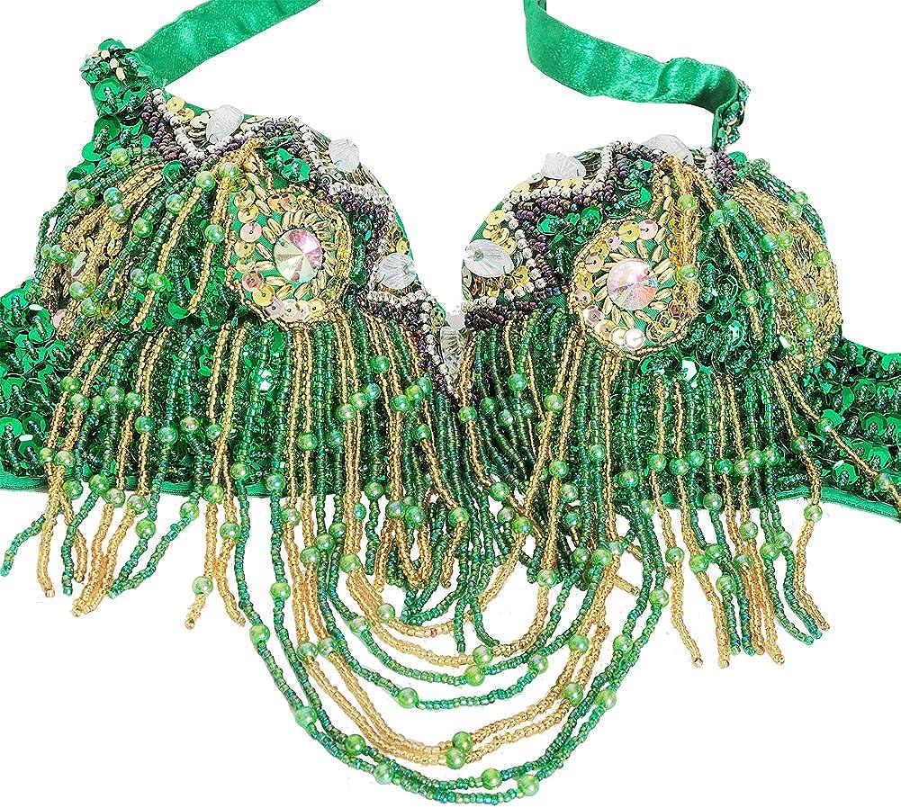 Amazon.com: ROYAL SMEELA Set de disfraz de danza del vientre ...
