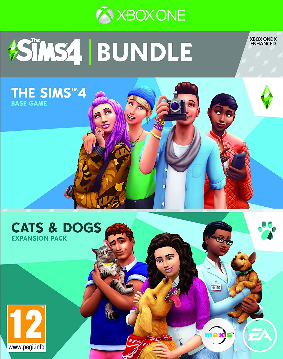 The Sims 4 Plus Cats and Dogs Bundle - Xbox One [Importación ...