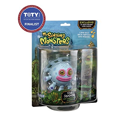 My Singing Monsters Musical Collectible Figure- Toe Jammer: Toys & Games