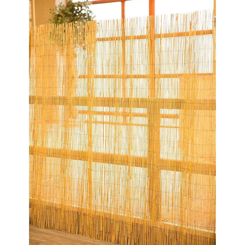 Sichtschutz für Garten Balkon u Terrasse Wind Lärm Schilf