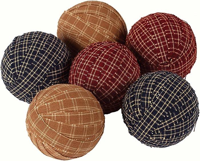 Large Primitive Rag Balls Set