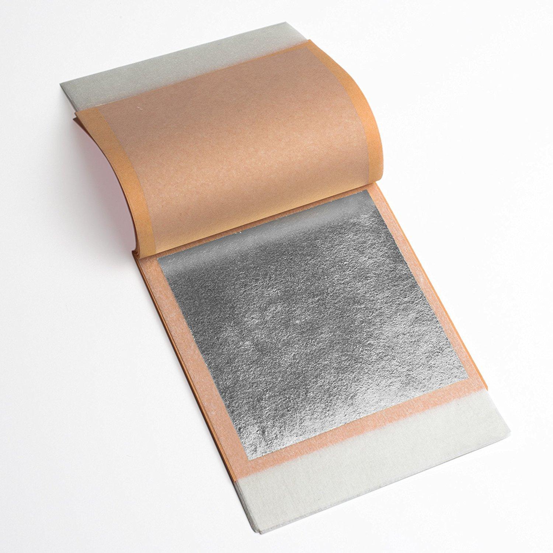 Genuine Silver Leaf (Loose & Transfer) (20 booklets (500 sheets), Transfer)