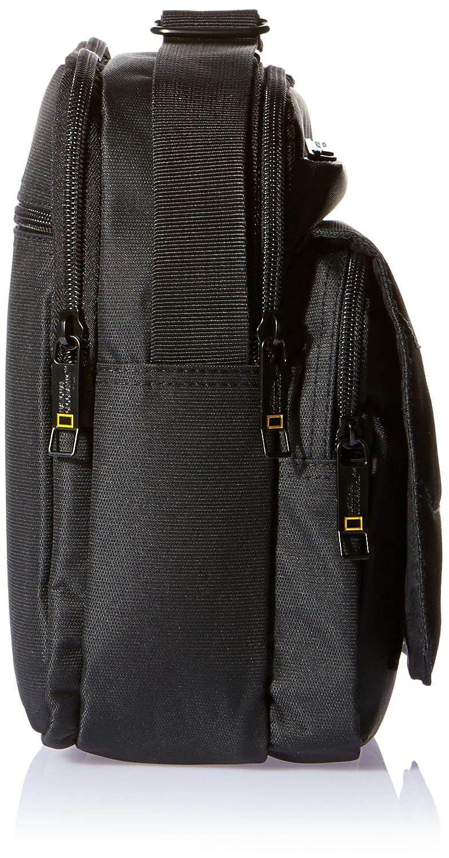 National Geographic Sac /à bandouli/ère avec poign/ée poche /à fermeture /éclair int/érieur /«pro Rabat avec fermeture Velcro s/épar/és