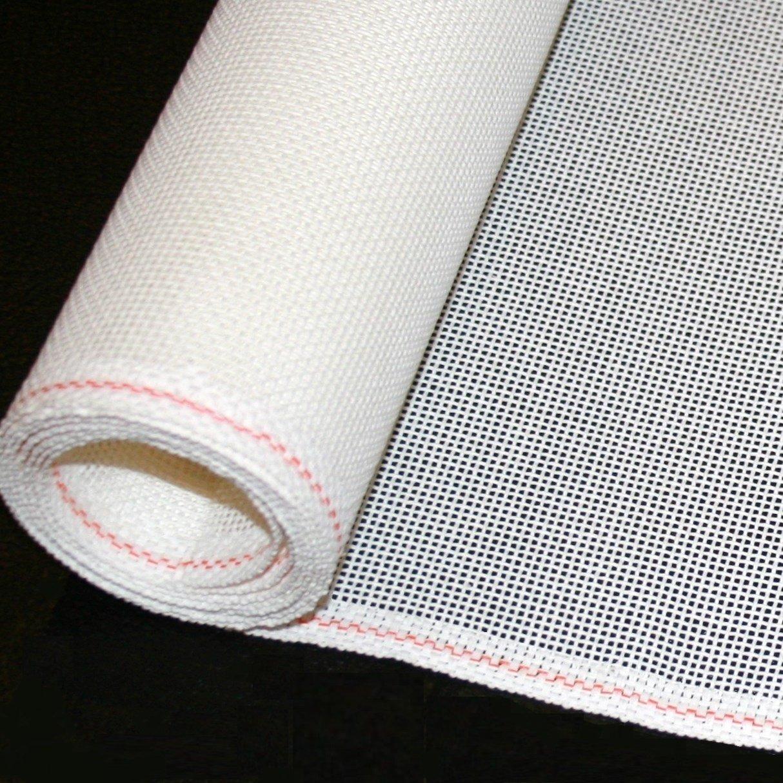 Priced Per 1 Yard Needlepoint Blank Canvas 10//12//13//14//16//18 Mesh- Zweigart Mono Deluxe Orange Line 14 Low Price Guarantee