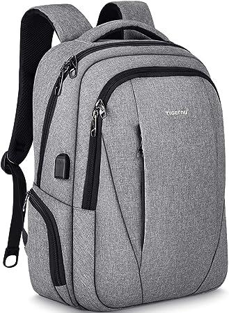 Tigernu 15.6inch Men Women Waterproof Business Laptop Backpack School Travel bag