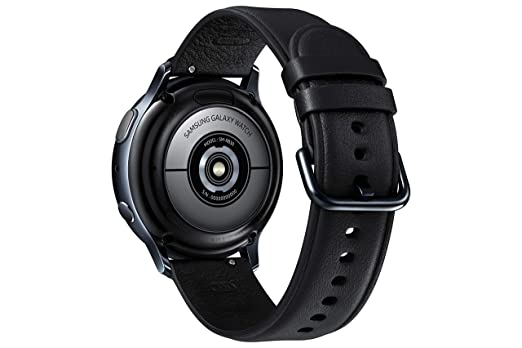 Samsung Galaxy Watch Active2 Stainless Steel LTE Unlocked (ATT, Verizon, Tmobile, Sprint) Black SM-R835U 40mm - (US Version & Warranty)