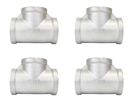 Amazon.com: CMI Inc - Juego de 10 tubos de acero inoxidable ...