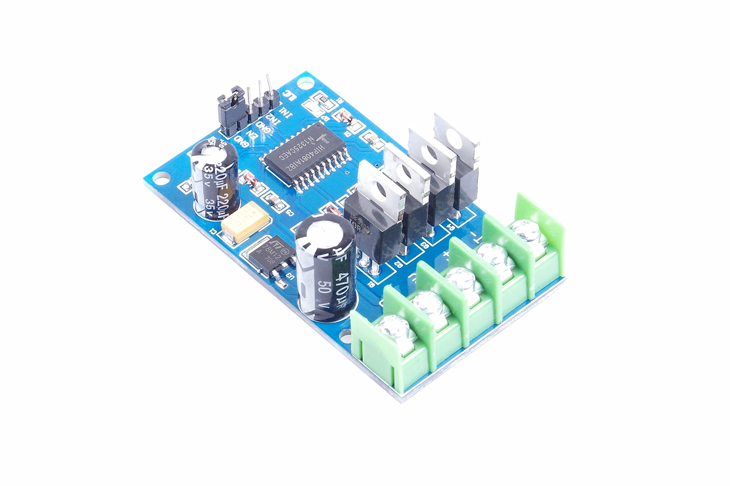 170W High Power H-Bridge Drive Board NMOS With Brakes Forward And Reverse Full-Duty One Piece