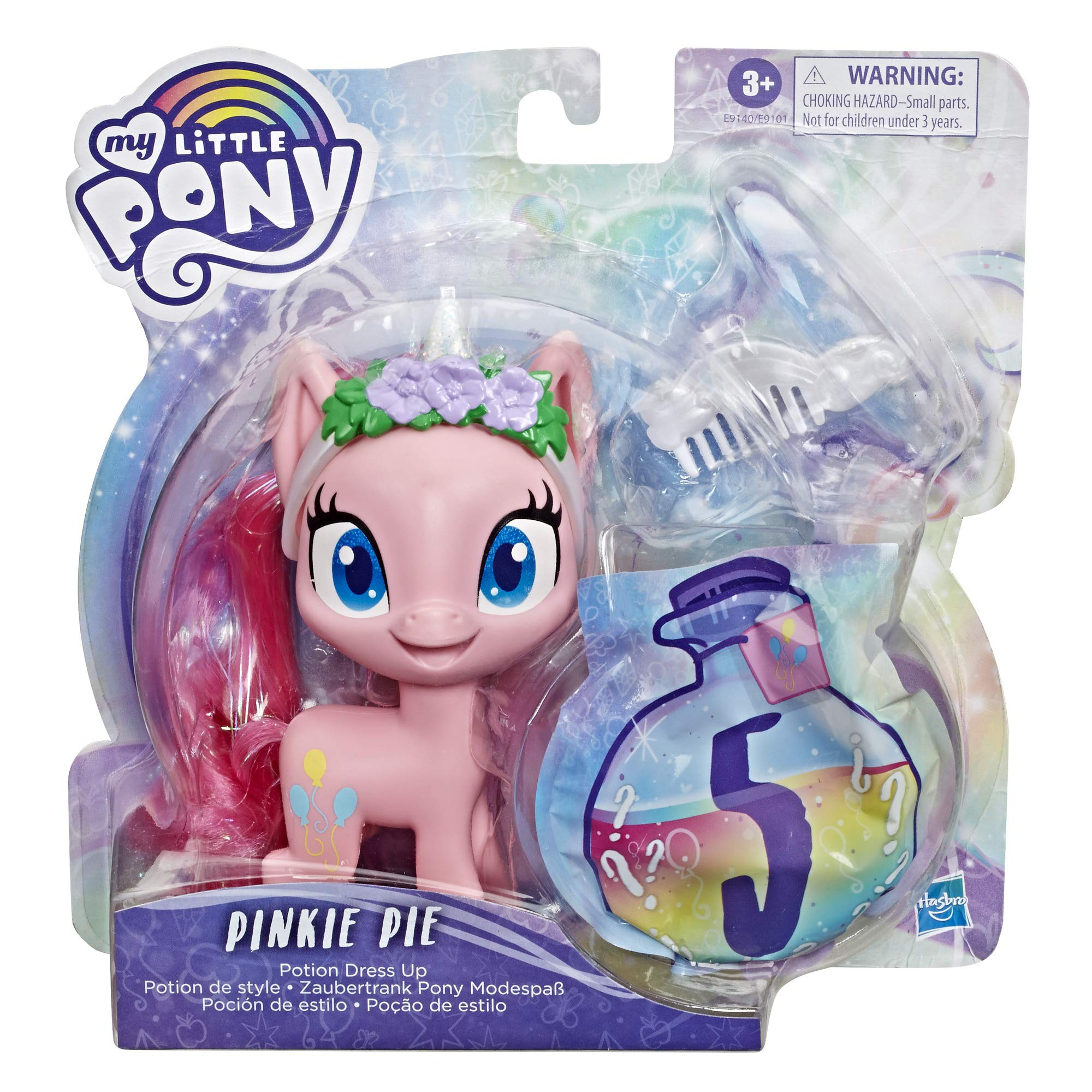 My Little Pony The Movie Collectible Dog tag Necklace and Trading Card Mystery Pack Bundle of 3
