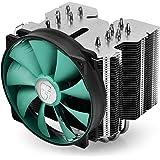 DEEPCOOL Lucifer V2 CPU Cooler 140mm Silent PWM Fan 6 Heatpipes
