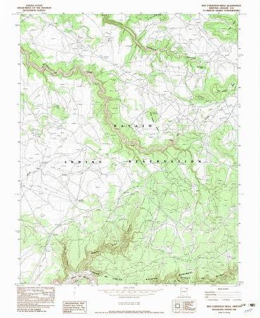 Amazon.com : Red Cornfield Mesa AZ topo map, 1:24000 scale, 7.5 X ...
