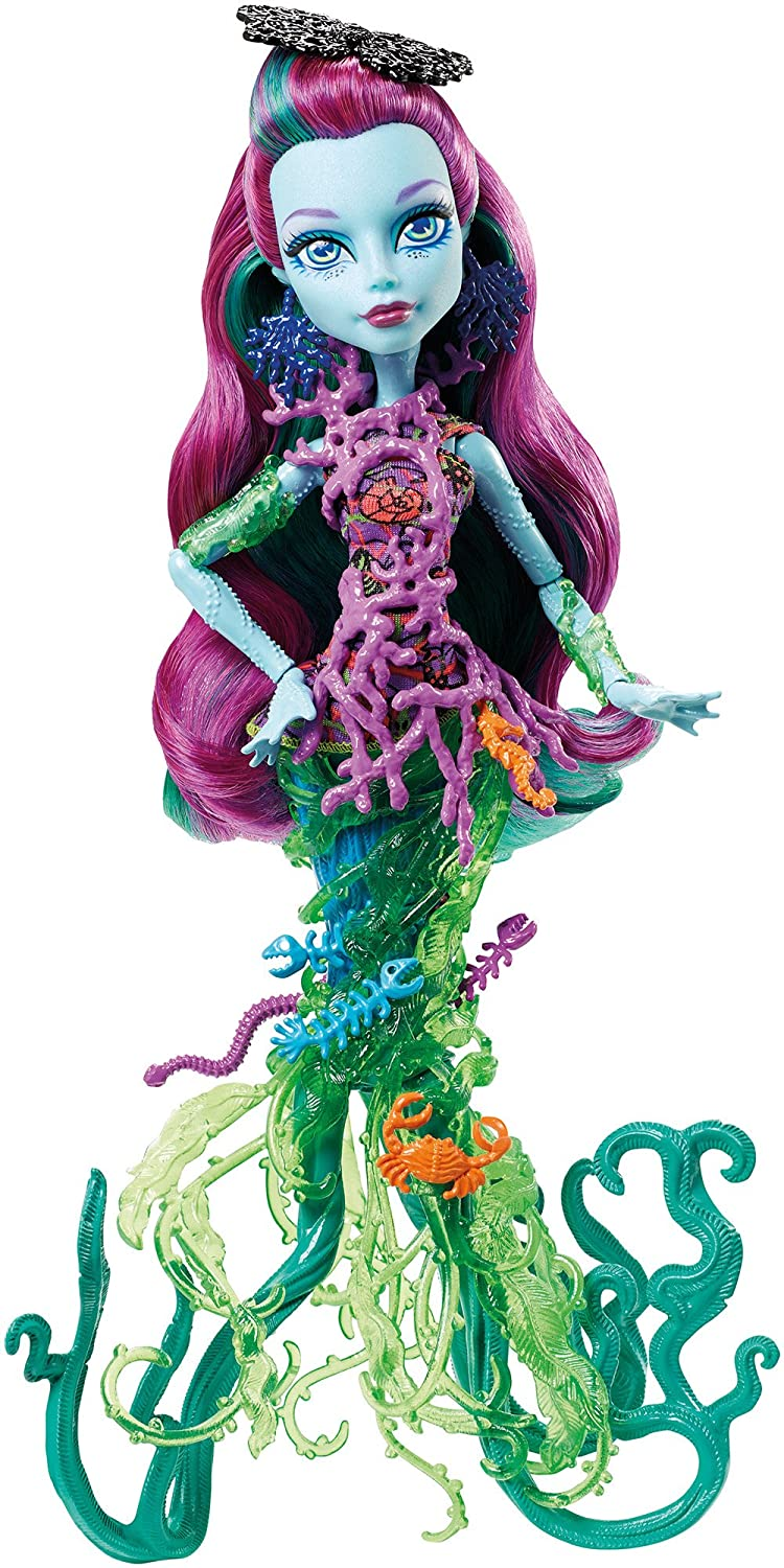Monster High Great Scarrier Reef Down Under Ghouls Posea Reef Doll by Monster High