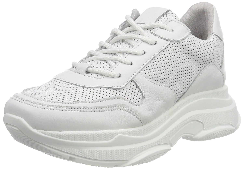 Steve Madden Zela-p Sneaker, Zapatillas para Mujer 37 EU Wei (White Leather 107)