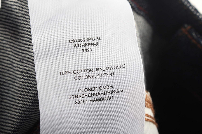f7ff7ce8529a05 Closed Worker-X Damen Jeans Hose Jeanshose Gr. 28 dunkelblau Neu:  Amazon.de: Bekleidung