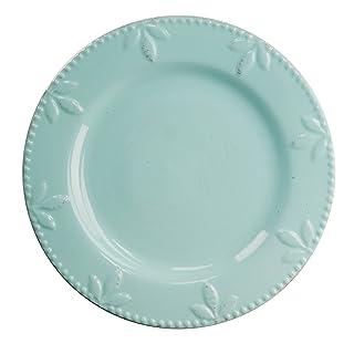 Signature Housewares Sorrento Collection 11 Round Dinner Plate, Aqua by Signature Housewares 71121