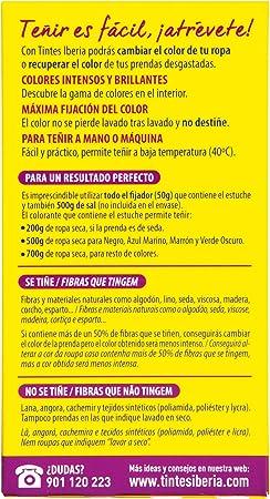 Iberia - Tinte 40°C Azul Vaquero - 70 g [Pack de 6]: Amazon ...