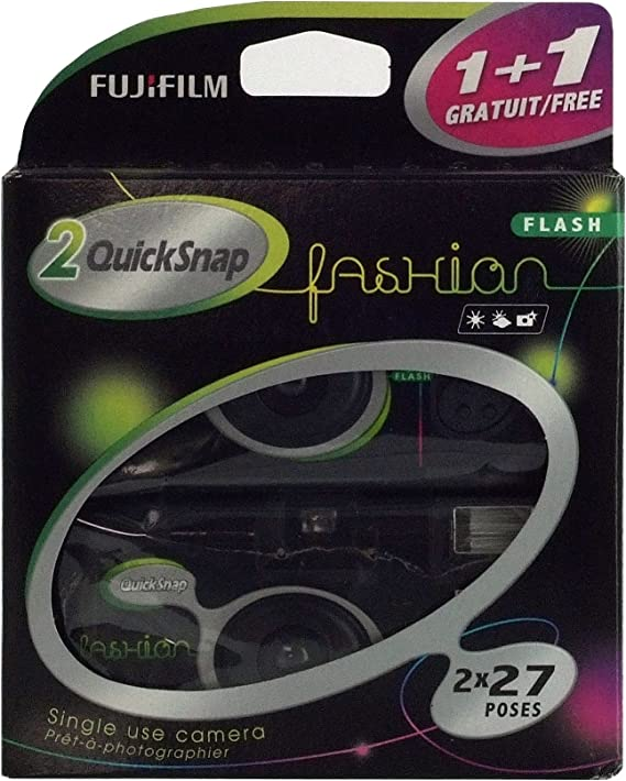 Fujifilm Quicksnap Fashion 400 Iso Einwegkamera Mit Kamera