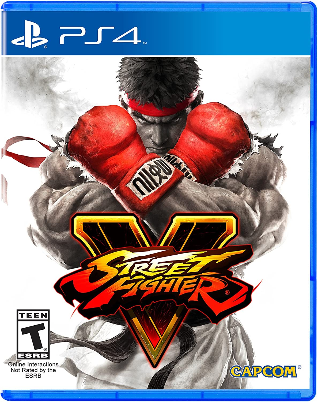 Street Fighter V Playstation 4 Standard Edition Marvel Vs Capcom Infinite Reg 3 Video Games