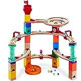 Hape Castle Escape - Quadrilla Wooden Marble Run Blocks - STEM Learning, Building & Development Construction Toy…