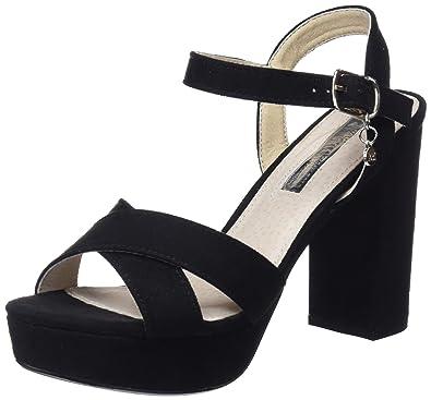 30753, Escarpins Bride Cheville Femme, Noir (Black), 40 EUXti