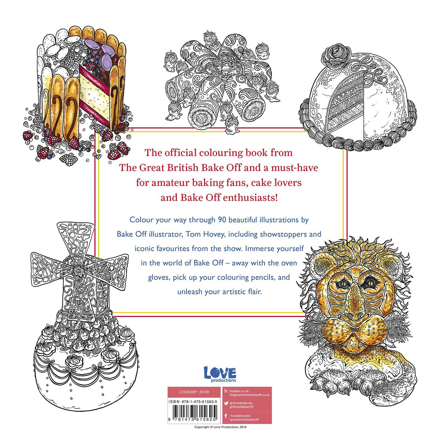amazon com great british bake off colouring book 9781473615625
