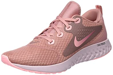 Nike Womens WMNS Legend React Low-Top Sneakers, Pink, 8.5 UK