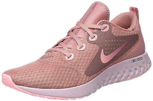 Nike Womens WMNS Legend React Low-Top Sneakers, Pink, 8.5 UK