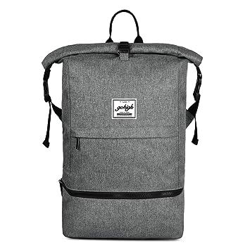 LiDCH Mochila de viaje antirrobo para portátil de 15,6 pulgadas, impermeable, mochilas