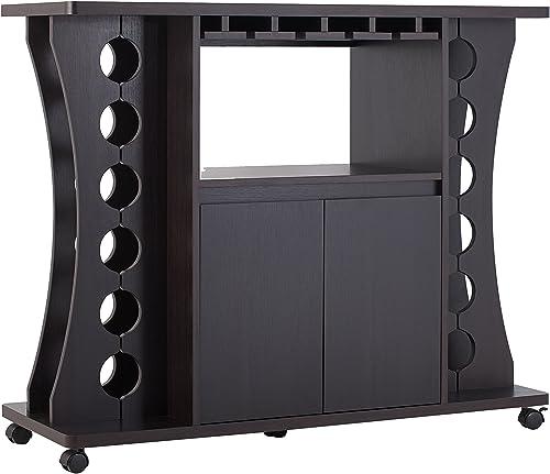 Furniture of America Henley Freestanding Bar Table