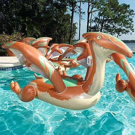 Amazon.com: Bestway Pre-Historic Pterodactyl Swimming Pool Float, 2 ...