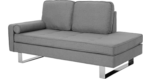 Cheap Christopher Knight Home Phelps Modern Fabric Chaise Loveseat living room sofa for sale